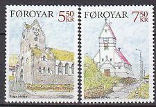 FAROE ISLANDS 2004**MNH SC# 449 - 450  The Churches
