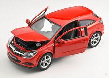 Spedizione LAMPO OPEL ASTRA GTC 2005-2010 ROSSO/RED Welly Modello Auto 1:24 NUOVO OVP