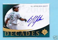 2005 UD UPPER DECK SIGNATURE EDITION BJ UPTON AUTO CARD