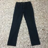 J. Jill Womens Jeans 8 Slim Leg Tried and True Fit Blue Denim Dark Wash Stretch