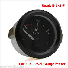 "2"" Car Fuel Level Gauge Meter +Fuel Sensor E-1/2-F Pointer"
