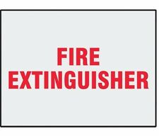 "Danger Label, Fire Extinguisher, 5"" X 3-1/2"" Pk 8 #L286H (M0974-3Xdr8)"