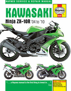 Kawasaki ZX-10R 2004-2010 Repair Manual
