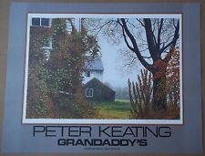 Peter Keating GRANDADDY'S Signed Numbered 123/150 Print Litho Art Poster RARE