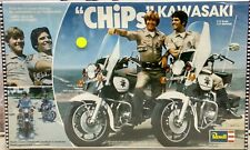 "Vintage Revell ""Chips"" Kawasaki MotorBike ModelKits Scale1/12 From TV Series"