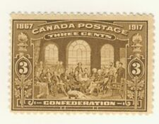 Canada Stamp Scott # 135 3-Cents 50th Confederation MH