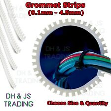 Flexible Grommet Strip Panel Serrated Edging Protection Electrical Cable Run