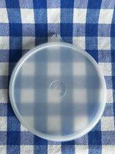 Tupperware Replacement Lid # 227-27 Sheer White Round