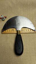 Halbmond Messer Sattler Schuster historisch aber neu 16 cm Handgeschmiedet super