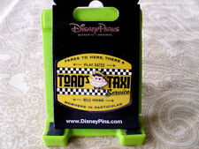 Disney * TOAD'S TAXI * Mr. Toad's Wild Ride Colorful Attraction Pin