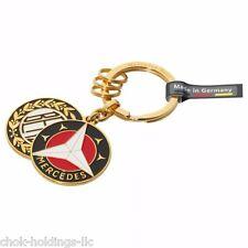 Genuine Mercedes Benz Key Ring Sindelfingen 1909 & 1916 Logo B66041523