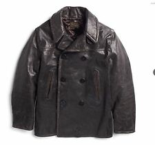 Leather Peacoat Coats & Jackets for Men RRL | eBay