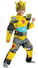 NEW Transformers Bumblebee Dress Up Play Costume Jumpsuit Toddler 3T-4T