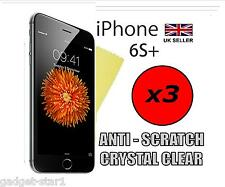 "3x HQ CLEAR SCREEN PROTECTOR COVER LCD GUARD FILM APPLE IPHONE 6S PLUS 5.5"" 6S+"