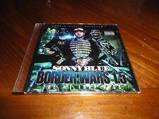 Chicano Rap CD Sonny Blue - Border Wars 1.5 #1 Trap Pick - Young Chapo Z-Gunz