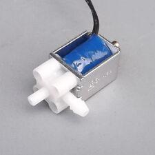 Mini Electric Control Solenoid Valve Gas Air Pump 2-Position 3-Way  DC 5V 6V  LB