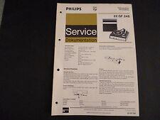 Original Service Manual Philips  22 GF 248