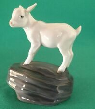 Royal Copenhagen Denmark Figurine #4760 Kid Goat On Rock Mint
