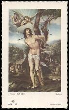 """santino-holy card""""""""ediz. NB serie ARTE  n.36 S.SEBASTIANO M."""