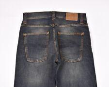 Nudie Jeans Co Dude Dan Regular Fit Jeans INDACO in acciaio