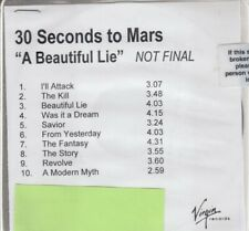 30 seconds to mars a beautiful lie cd new promo not final