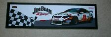 JIM BEAM RACING BAR MAT - NEW - SIZE ABOUT 880 mm x 250 mm - FREE POSTAGE
