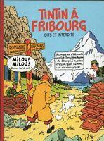 PASTICHE TINTIN. Tintin à Fribourg. Dits et Interdits. Album cartonné 44 pages