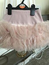 Girls Monalisa Pink Feather Skirt Age 5 Years