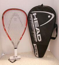 Head Titanium Ti.195 XL Racquetball Racquet 3 5/8 - EUC