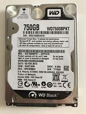"WD7500BPKT WD 750GB 7200RPM 3Gbps SATA 2.5"" HARD DRIVE - (In-Stock)"