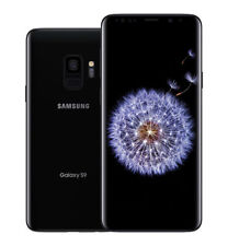 Samsung Galaxy S9 SM-G960 - 64GB - Midnight Black (O2) Smartphone (Single SIM)