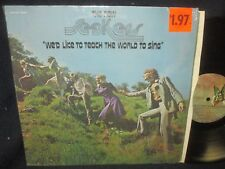 "The New Seekers ""We'd Like to Teach the World to Sing"" LP in SHRINK"