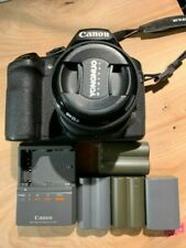 Canon EOS 40D DSLR camera, lens, 3 batteries, charger + Free Shipping
