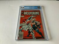 WOLVERINE 2 CGC 9.4 WHITE PAGES NEWSSTAND SILVER SAMURAI MARVEL COMICS 1988