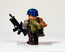 LEGO Custom UN Marine Military Army Soldier Minifigure x1 *NEW*