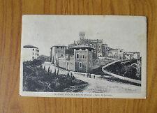 CARTOLINA SIENA S. CASCIANO DEI BAGNI VIAGGIATA 1932 SUBALPINA HH
