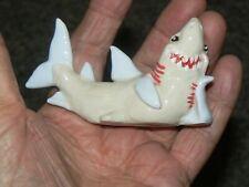 New listing Vintage Ceramic Aquarium Shark mint Decoration Aquarium Ornament