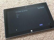 """Microsoft Surface 2 Windows RT 32GB Tablet, restaurada 10.6"""" Modelo 1572 fuente de alimentación"""