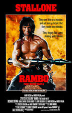 "Rambo ll  (11"" x 17"") Movie Collector's Poster Print - B2G1F"