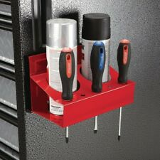 Magnetic Spray Can and Screwdriver Holder Auto Shop Garage Toolbox Red (SALE) !!
