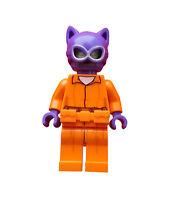 Lego Cat Woman Shirt Beine in orange Super Heroes Neu Minifigur Minifig (sh338)