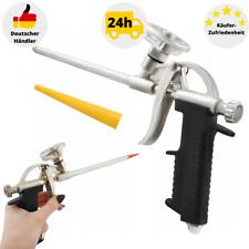 Schaumpistole Profi Bauschaumpistole Montageschaum Metall Pistole für Bauschaum