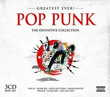 POP PUNK GREATEST EVER 3 CD NEW+ PAPA ROACH/RAMONES/SUGAR RAY/HOLE/BUSTED