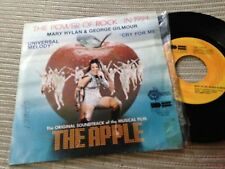 "MARY HYLAN & GEORGE GILMOUR - UNIVERSAL MELODY 7"" SINGLE OST THE APPLE - SPAIN"