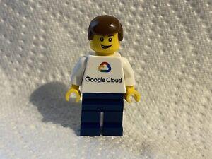 Extremely Rare 2019 Promotional Google Cloud Lego Minifigure Htf
