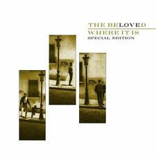 The Beloved - Where It Is (Special Edition) 2 CD ALBUM NEW (31ST JAN)
