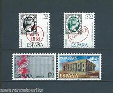 ESPAGNE - 1969 YT 1571 à 1574 - TIMBRES SELLOS NEUFS** LUXE