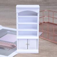 1:12 Dollhouse Miniature Furniture Wooden Living Room Book Cabinet Bookshelf  SF