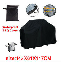 57 Inch Waterproof BBQ Cover Garden Patio Gas Barbecue Grill Protection Outdoor