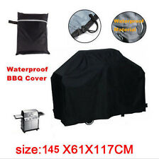 57' Waterproof Bbq Cover Gas Barbecue Grill Protection Patio Outdoor Black Us